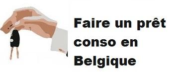 Faire un prêt conso en Belgique